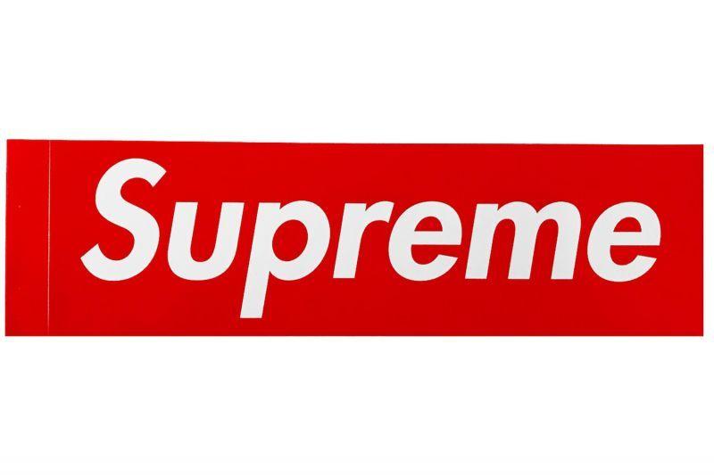 画像1: SUPREME BOX LOGO STICKER | シュプリーム ボックス ロゴ ステッカー (1)