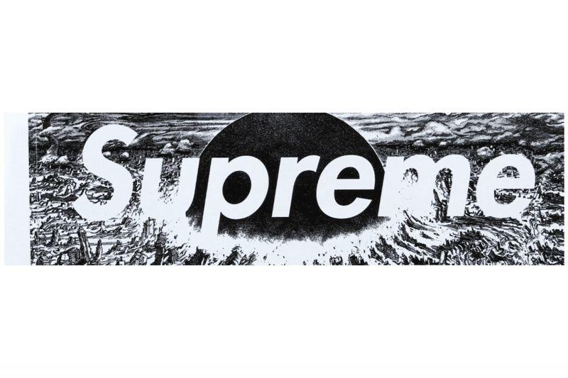 画像1: SUPREME X AKIRA BOX LOGO STICKER | シュプリーム X アキラ ボックス ロゴ ステッカー (1)