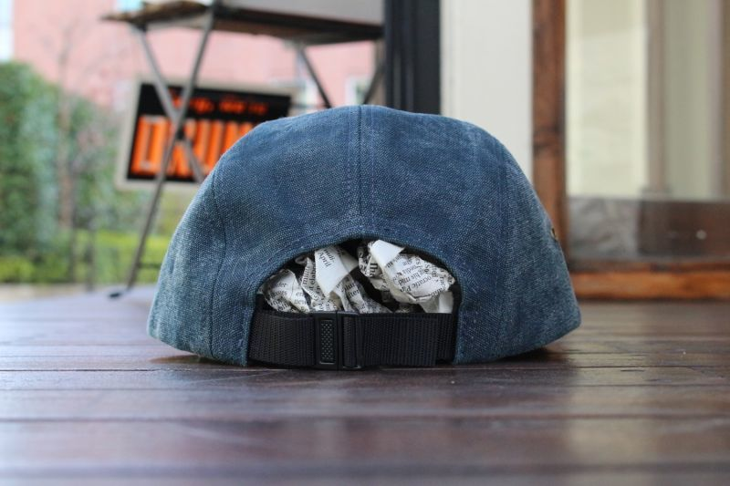 67436c7992d 画像4   USED SUPREME 15SS STONE WASHED CANVAS CAMP CAP