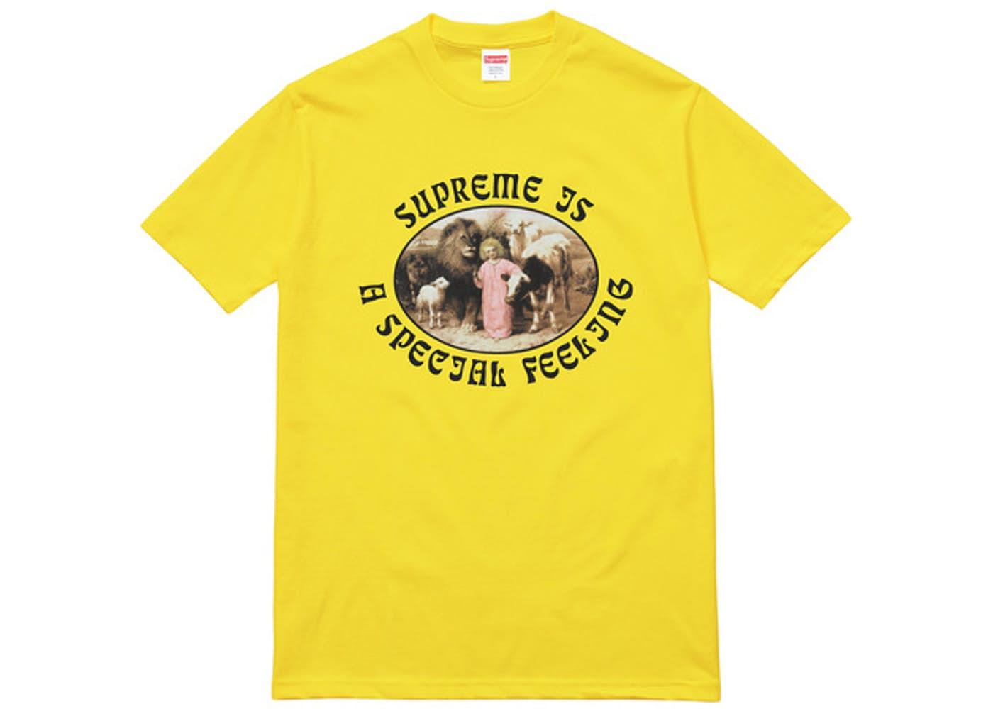画像1: SUPREME FEERING TEE | シュプリーム フィーリング Tシャツ (1)