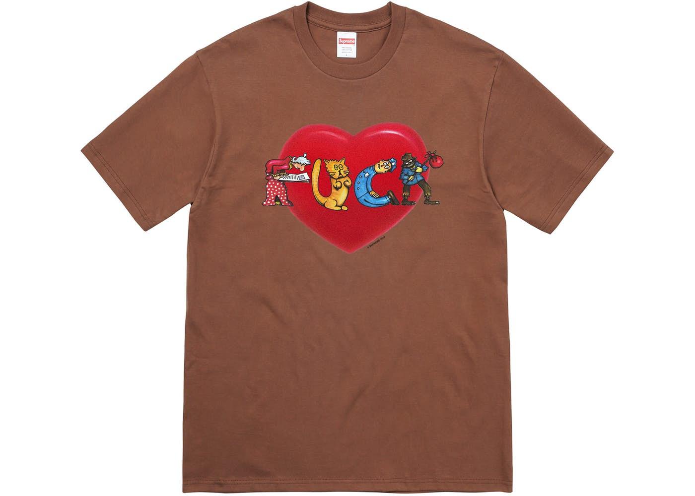 画像1: SUPREME FUCK LOVE TEE | シュプリーム ファック ラブ Tシャツ (1)