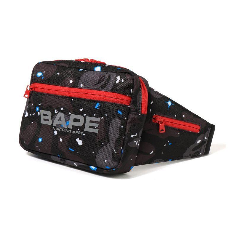 画像1: A BATHING APE SPACE CAMO WAIST BAG   ア ベイシング エイプ  スペース カモ ウエストバッグ (1)