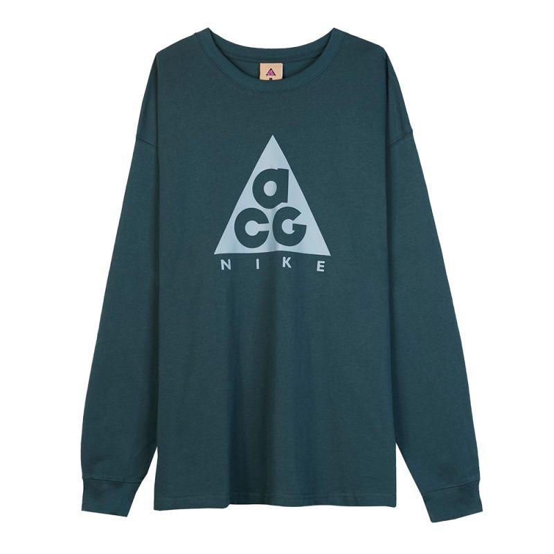画像1: NIKE ACG LONG SLEEVE LOGO TEE   ナイキ ACG ロングスリーブ ロゴ Tシャツ (1)