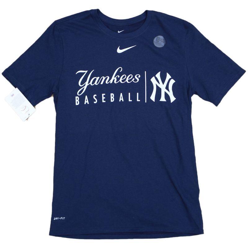 画像1: NIKE X NEW YORK YANKEES DRYFIT S/S TEE | ナイキ X ニューヨーク ヤンキース ショートスリーブ ドライフィット TEE (1)